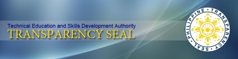 TESDA ISAT Transparency Seal
